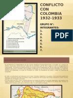 Conflicto Con Colombia 1932-1933