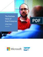 The Business Value of Duet Enterprise