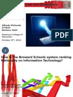 Broward School Technology Evaluation