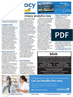 Pharmacy Daily for Mon 06 Jul 2015 - Pharmacy analytics key, RUM extended until 2018, Sleep snoring & RLS, Weekly Comment and much more