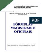 Fórmulas Magistrais e Oficinais