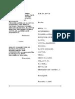 Jurisprudence related to legislative inquiry