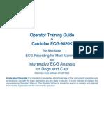 Cardiofax Ecg 9020k Manual