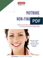 Motivare Non Financiara