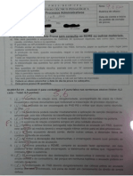 CHS 2013 - Prova - 2 - Processo Administrativo Militar