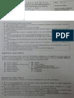 CHS 2013 - Prova - Crimes Ambientais e Procedimentos Policiais
