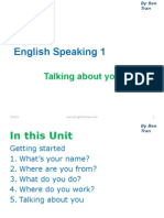Complete English Speaking 1 - Talking About You