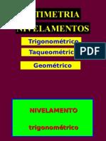 Nivelamento Geométrico 10-10-2007