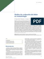 Medio de Evaluacion de Dolor en Reumatologia