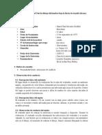 Informe Psicologico Del Hombre Bajo La Lluvia (Final)