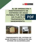 00 Caratula de Manual de Operacion y Mantenimiento