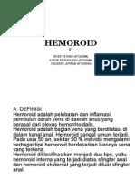 HEMOROID KACUNG