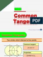 3. Common Tangents