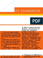 Diagnostic Examination