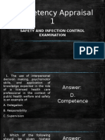 Safety and Infection Control Exam