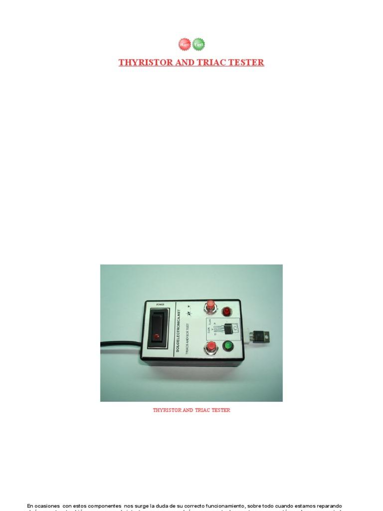 Thyristor And Triac Tester 1537643587v1