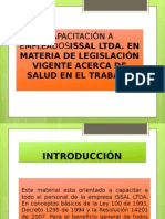 CAPACITACIÓN A EMPLEADOSISSAL LTDA.pptx