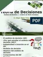 Teoría de Decisiones 1 DA