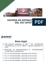 2015.04.26 Sistema de Detracciones Modificaciones 2015