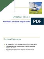 Dynamics Lecture 6au