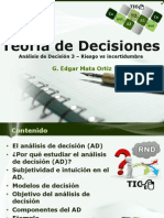 Teoría de Decisiones 3 DA