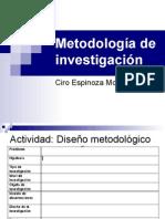 3. Metodología de Investigación