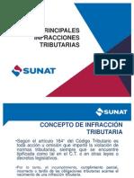 2015.05.31 Principales Infracciones Tributarias Comprobantes de Pago