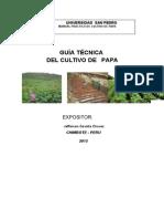 Manual Tecnico Del Cultivo de Papa
