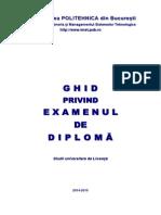 Ghid Examen Diploma IMST