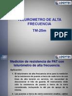 Telumetro de alta frecuencia TM25M_ROSA.ppt