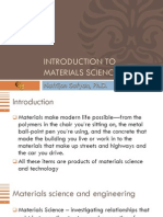 1. Intro to Materials Science