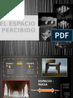 Espacio Percibido - Jorge Burga