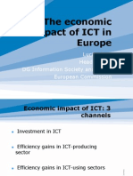 The Economic Impact of ICT in Europe