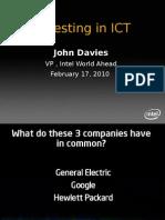 Investing in ICT
