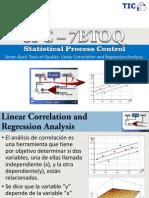 7BTOQ Linear Correlation and Regression Analysis