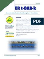 SCRC RivertOARk Winter 2015