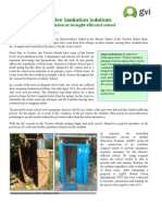 GVi Fiji June 2015 Achievement Report - Compost Toilet installation