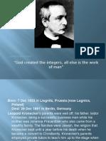 Leopold Kronecker.pptx