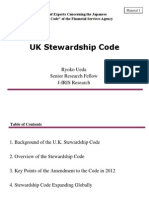UK Stewardship Code