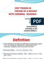 Resuscitation Of a Patient with Cerebral Ischemia