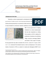 Policy study on Dipolog City Urban Renewal Project