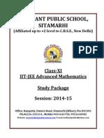 XI Mathematics IIT JEE Advanced Study Package 2014 159