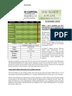 Philstocks Daily Swim Econ Update 08242012