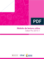 Modulo LECTURA CRITICA 2015 1 Definitivo Para Publicar Abr 15 15