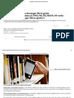El Ciudadano » 10 Webs Donde Puedes Descargar Libros Gratis