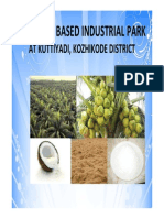 Introduction to Coconut based Industrial Park in Kozhikode_Kerala