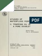 Studies of Water Fl 224 Rose