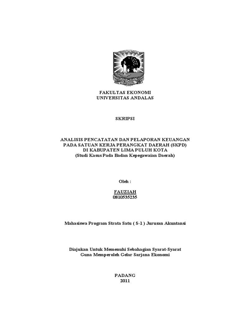 Contoh Tesis Akuntansi Keuangan Contoh Soal Dan Materi Pelajaran 2