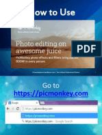 Designing Images Using Picmonkey