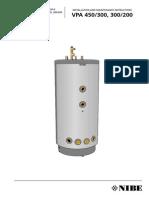 Boiler NIBE - Instalare